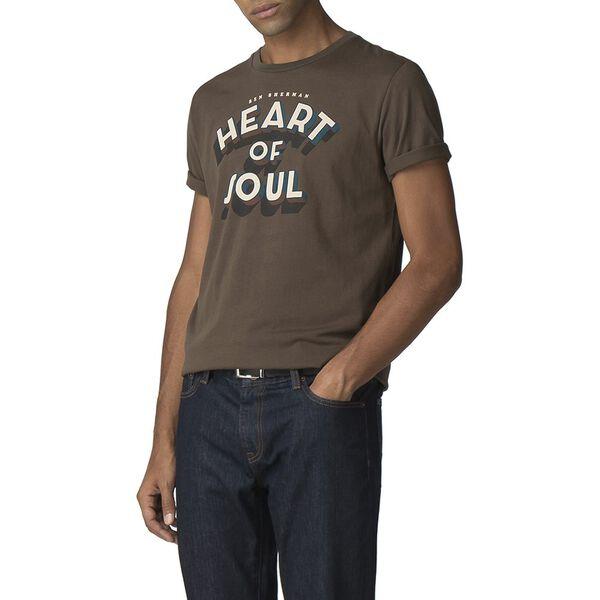 Heart Of Soul T-Shirt, OLIVE, hi-res