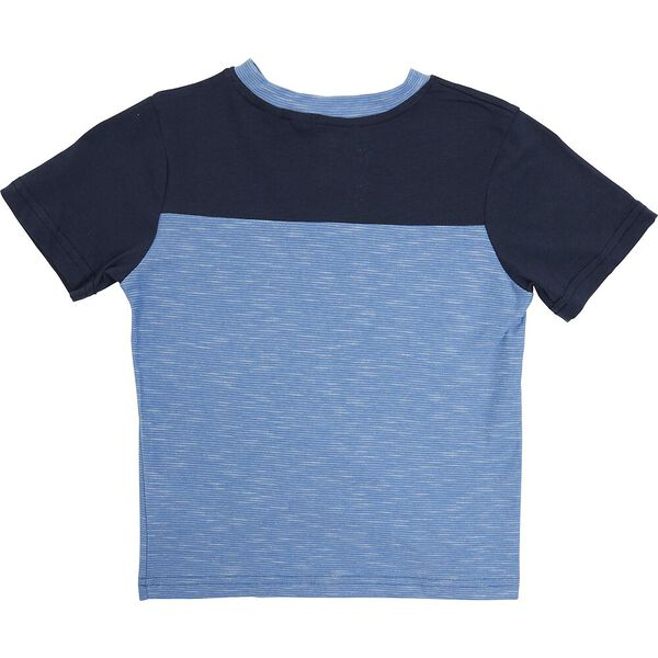 KIDS 3 PIECE SET WITH TEE, SAND/BLUE/NAVY, hi-res