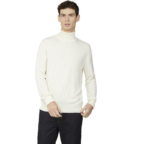 SIGNATURE COTTON ROLL NECK