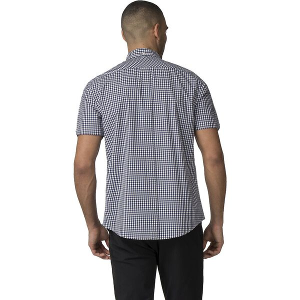 GINGHAM SHIRT, DARK BLUE, hi-res