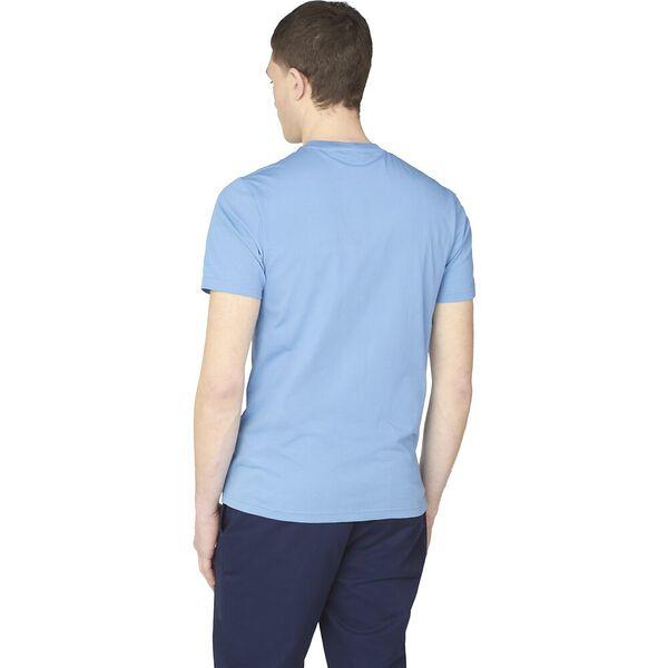 ORGANIC SIGNATURE POCKET TEE, RIVIERA BLUE, hi-res