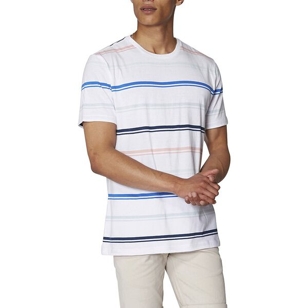 Mod Stripe T-Shirt, WHITE, hi-res