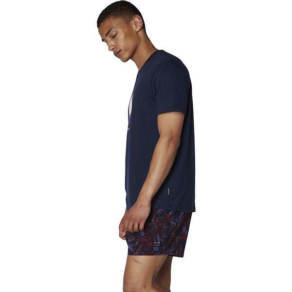 Tropical Target T-Shirt, NAVY, hi-res