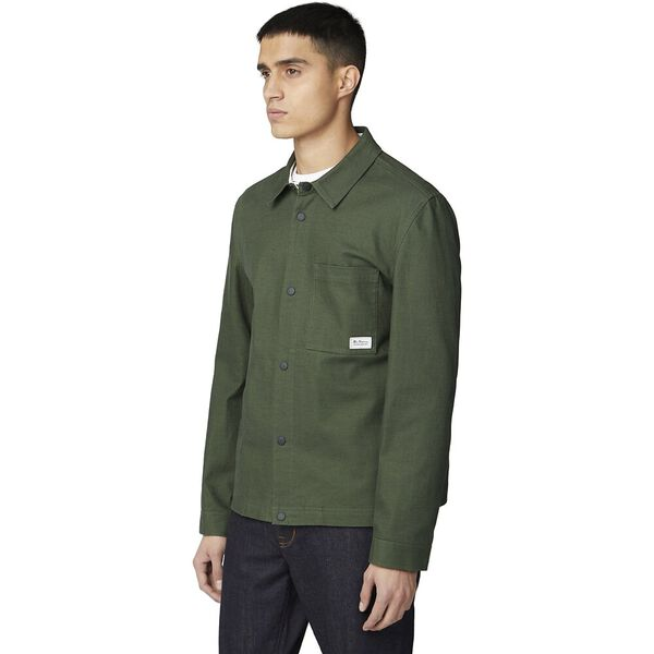 TRUCKER JACKET, TREKKING GREEN, hi-res