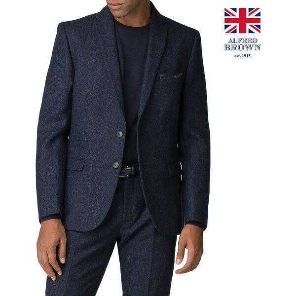 BRITISH BLACKENED BLUE DONEGAL JACKET