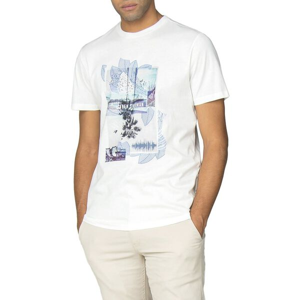 PROMENADE T-SHIRT, WHITE, hi-res