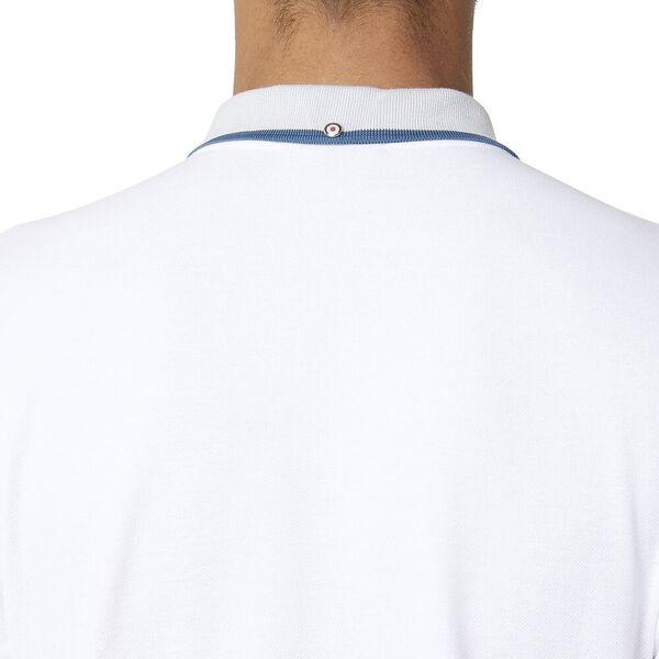 Block Tipping Polo Bright White, BRIGHT WHITE, hi-res