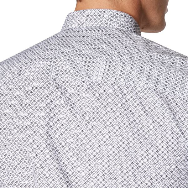 Formal Rope Print Camden Shirt, STAPLES NAVY, hi-res