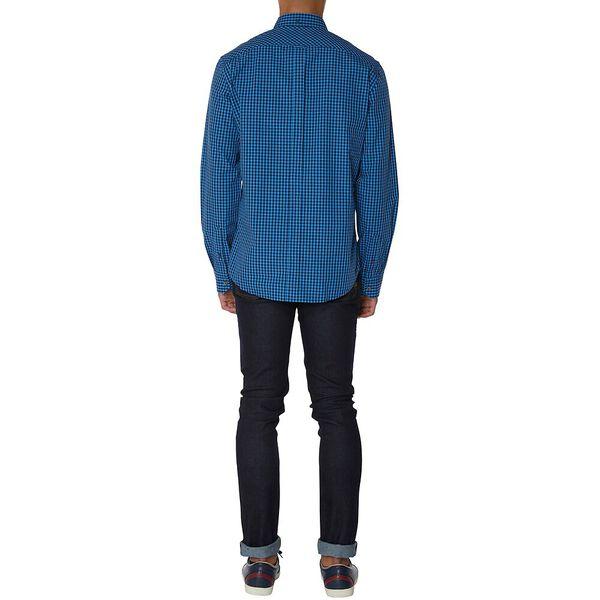 Eoe Gingham Shirt, MARINE, hi-res