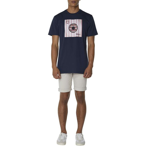 Vinyl Cover T-Shirt, DARK NAVY, hi-res