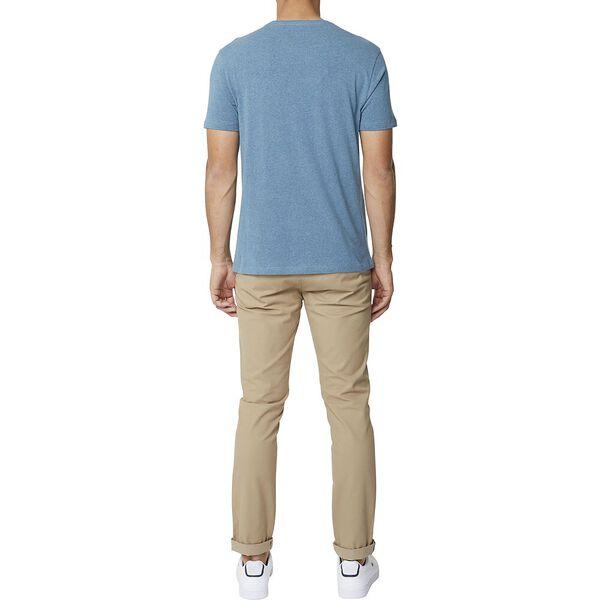Target Vertical Tee Teal Blue Marl, TEAL BLUE MARL, hi-res