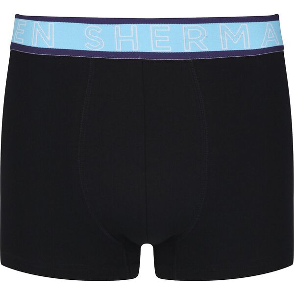 LUCA 3 PACK TRUNKS, BLACK / YELLOW / BLUE / PURPLE, hi-res