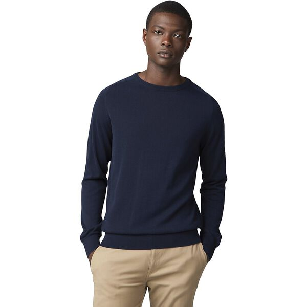 COTTON CREW NECK KNIT