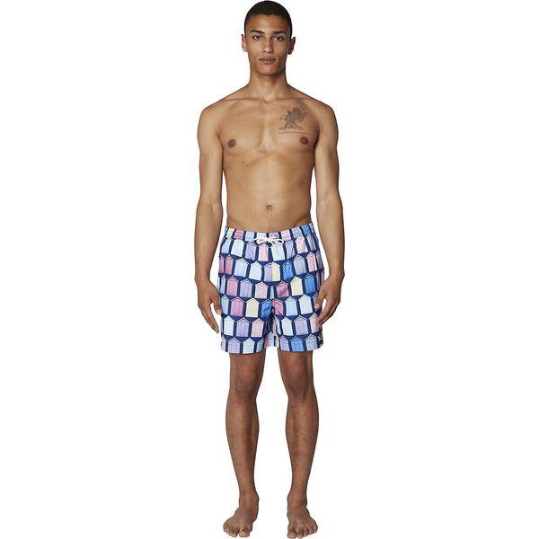 Beach Hut Swim Short, BRIGHT BLUE, hi-res