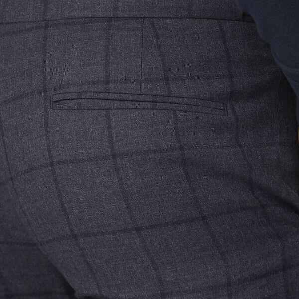 British Slate Windowpane Trouser Slate, SLATE, hi-res