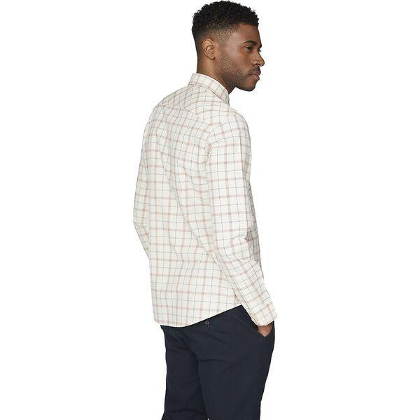 Ls Windowpane Shirt Off White, OFF WHITE, hi-res