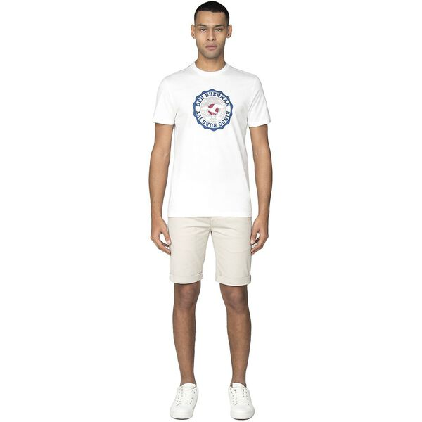 KINGS ROAD TARGET T-SHIRT, WHITE, hi-res