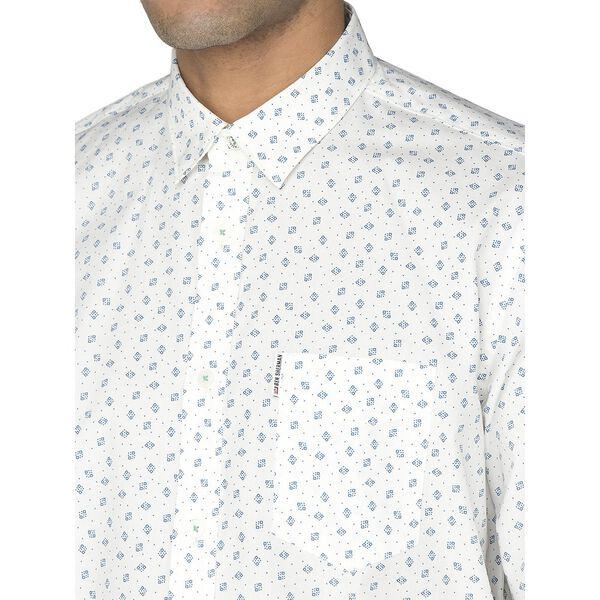 Scattered Geo Shirt, SEA, hi-res
