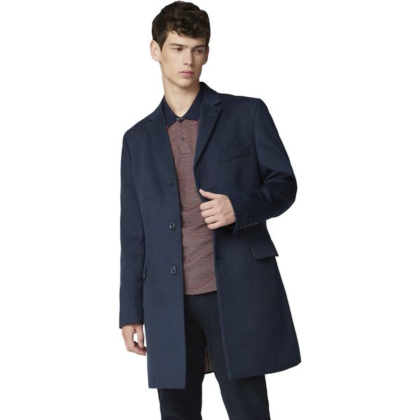 Tailored Coat Midnight, MIDNIGHT, hi-res