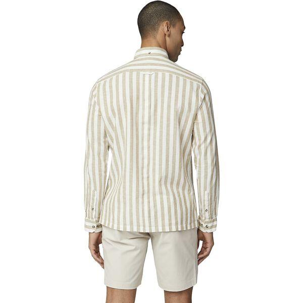 Candy Stripe Shirt, SAND, hi-res