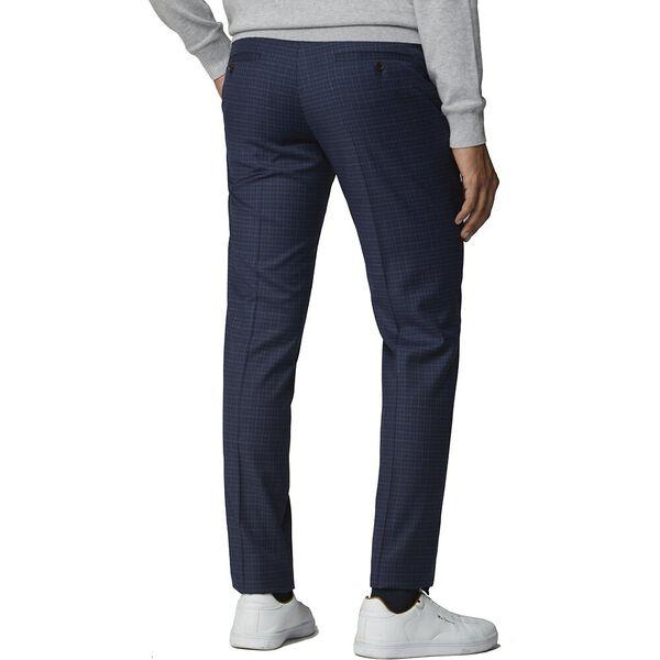 Blue Mod Micro Trouser Blue, BLUE, hi-res