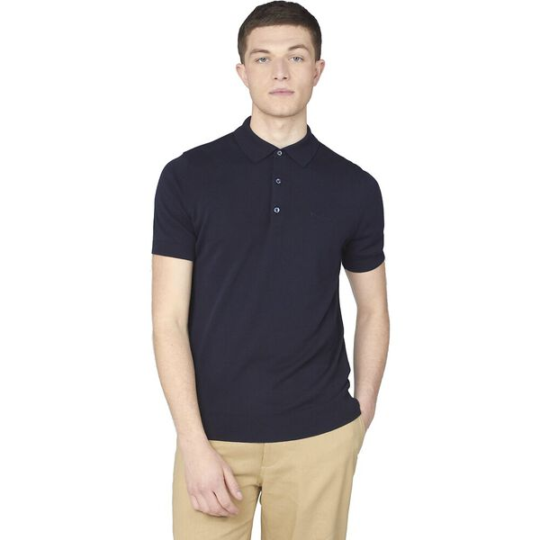 SHORT SLEEVE SIGNATURE KNITTED POLO