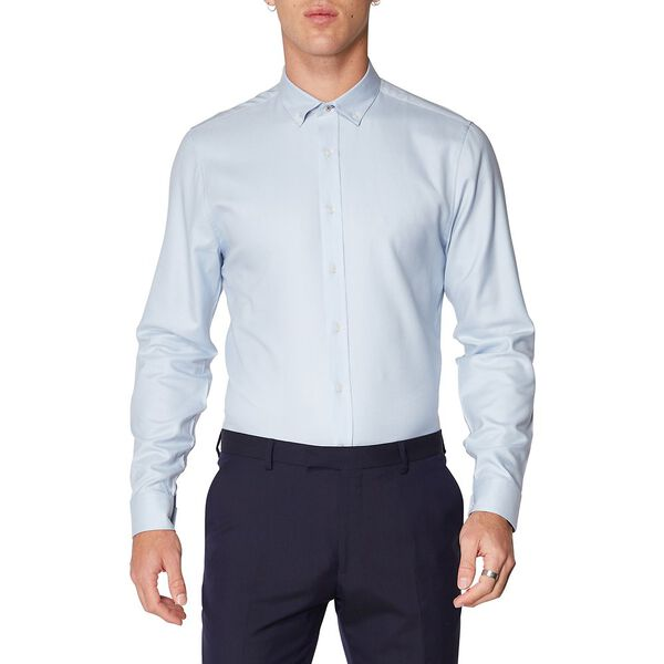 FORMAL DIAGONAL DOBBY KINGS SHIRT