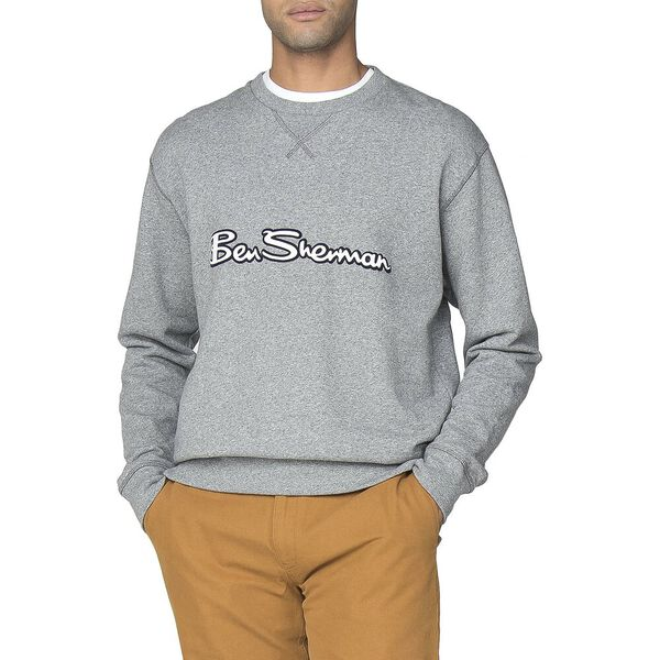 Archive Logo Carrier Sweat, GREY, hi-res