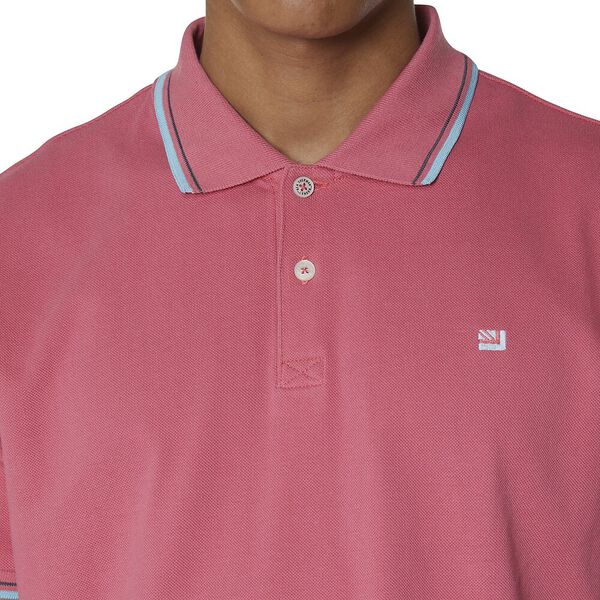 THE ROMFORD POLO, CANDY PINK, hi-res