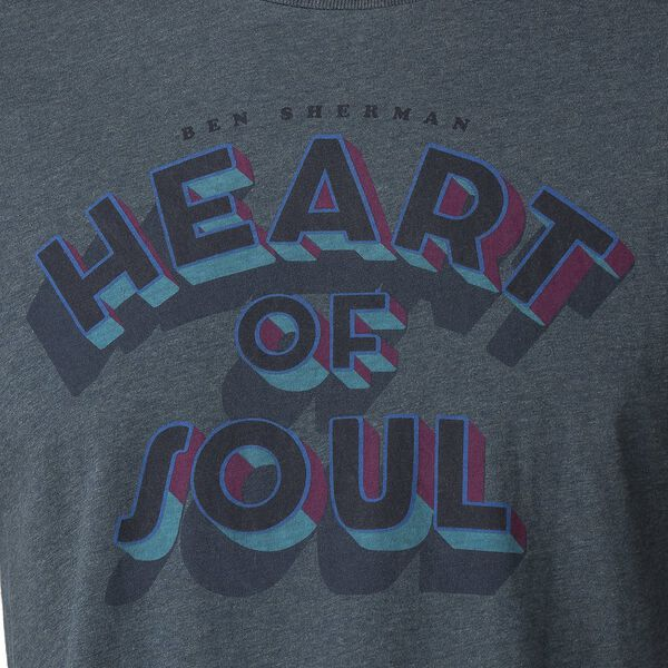 HEART OF SOUL T-SHIRT, TEAL, hi-res