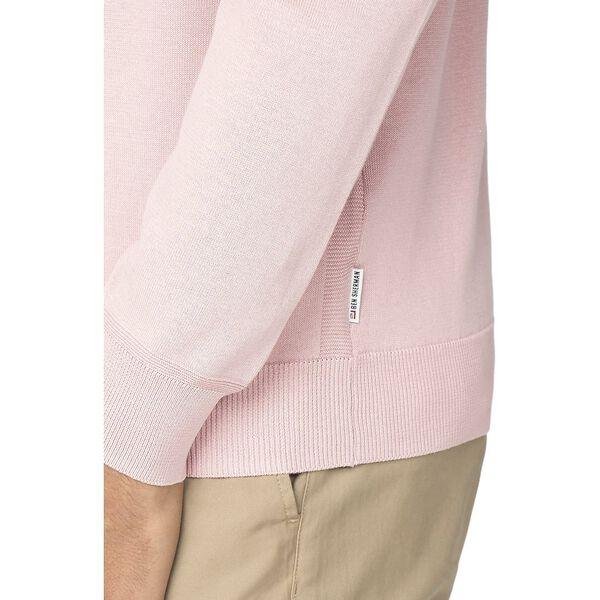 Cotton Crew Neck Knit, LIGHT PINK, hi-res
