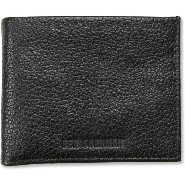 Bi Fold Wallet With Flip Black/Navy, BLACK/NAVY, hi-res