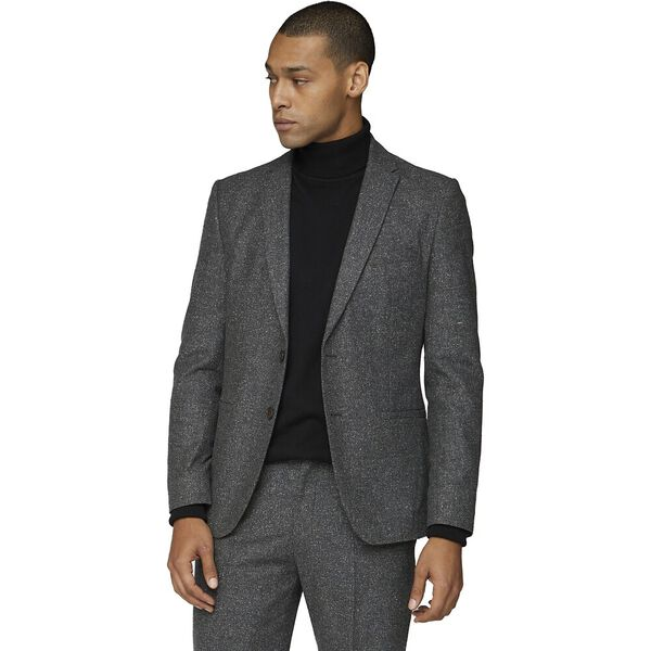 Charcoal Speckle Jacket Charcoal, CHARCOAL, hi-res