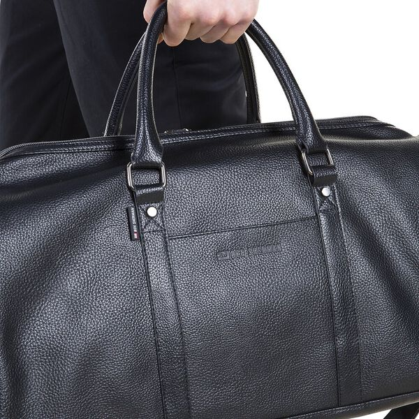 CHURCHILL HOLDALL BAG, BLACK, hi-res