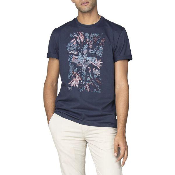 Tropical Union T-Shirt, DARK NAVY, hi-res