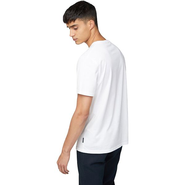 Target Vertical Tee White, WHITE, hi-res