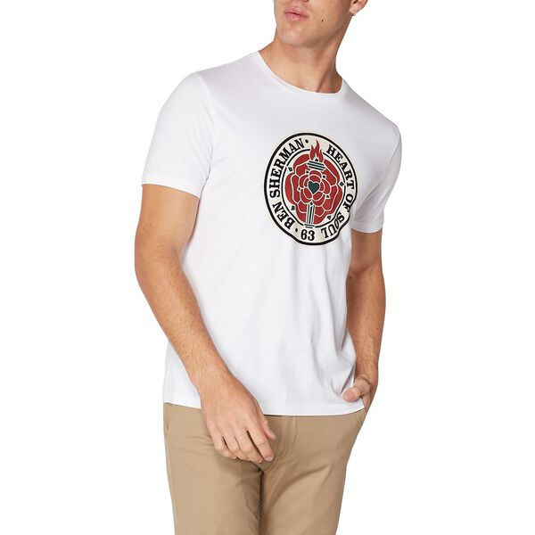 Heart Of Soul Rose T-Shirt, WHITE, hi-res