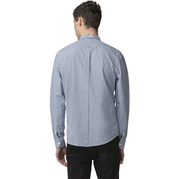 Mini House Gingham Shirt, DARK BLUE, hi-res