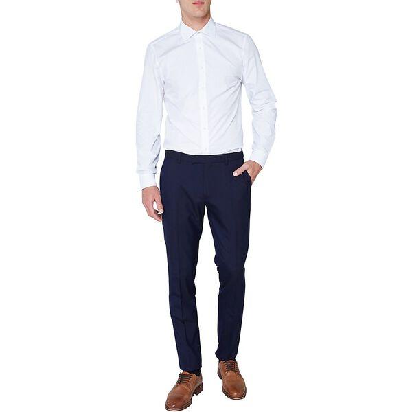 Diamond Geo Dobby Kings Shirt, BRIGHT WHITE, hi-res