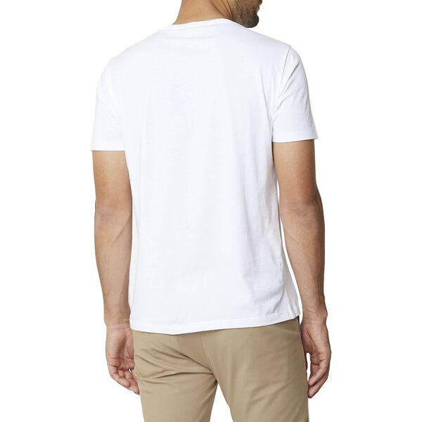 Tartan Panel Logo Tee White, WHITE, hi-res