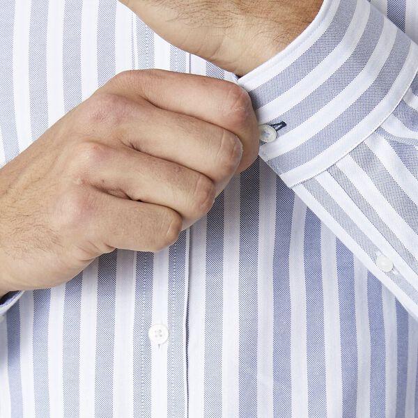 Ls Formal Camden Oxford Stripe Shirt Sky, SKY, hi-res