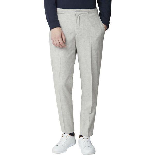 Cool Grey Speckle Trouser Light Grey