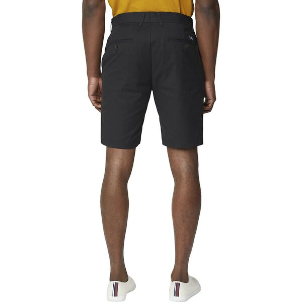 SIGNATURE CHINO SHORT, BLACK, hi-res