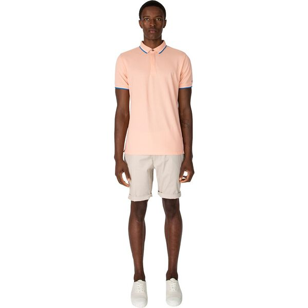 CLEAN FINISH POLO, DEEP CORAL, hi-res