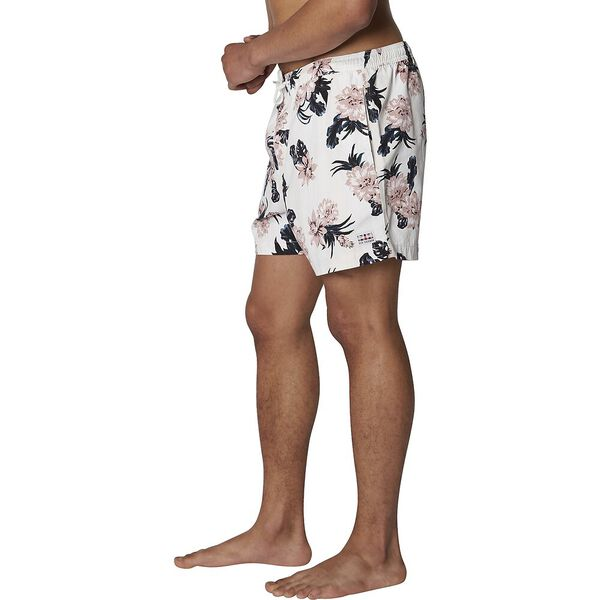 Large Floral Short, OFF WHITE, hi-res