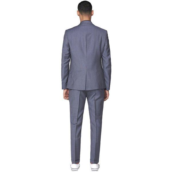 British Micro Gingham Jacket, ROYAL BLUE, hi-res