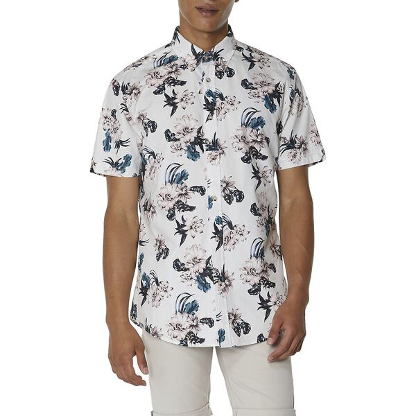 LARGE SCALE FLORAL SHIRT