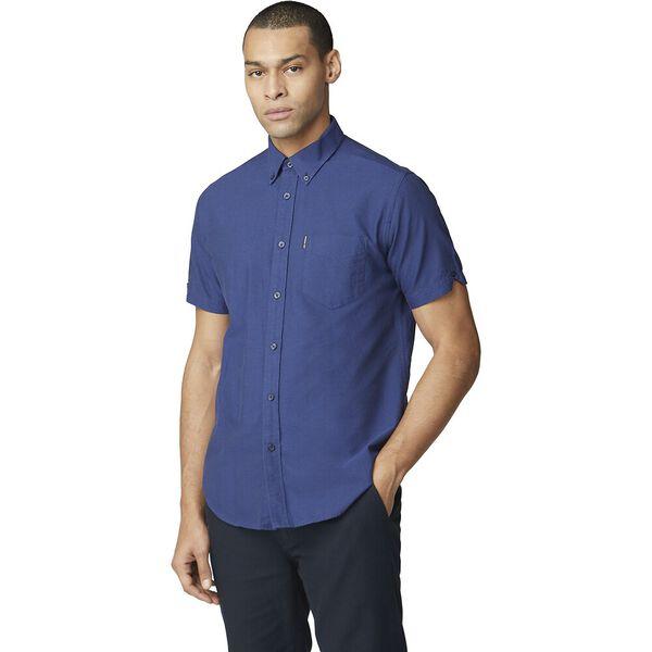 Ss Oxford Shirt Cobalt