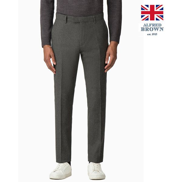 BRITISH DEEP SAGE DONEGAL TROUSER