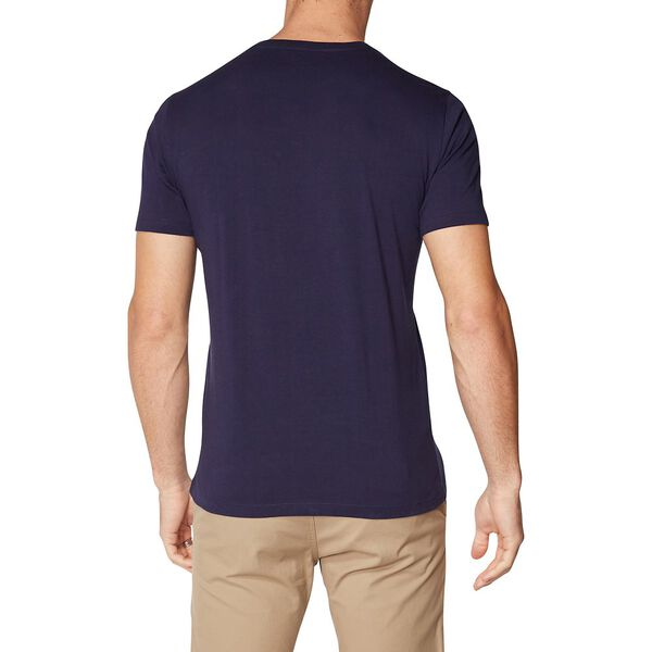 Record Flower T-Shirt, NAVY, hi-res